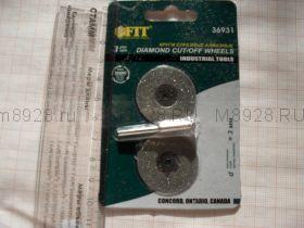 36931 Отрезной круг мини с алмазным напылением 30мм