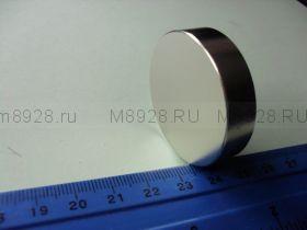 Магнит 40х10мм неодимовый (37кг)