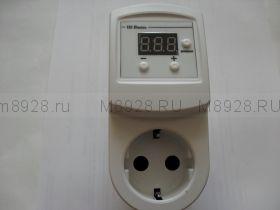 Регулятор напряжения РНЭ 0-220В 10 А с индикатором