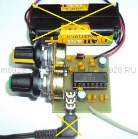 Радиоконструктор № 003, УКВ/FM радиоприёмник на микросхеме К174ХА34 (TDA7021)