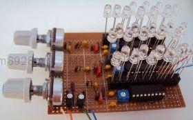Радиоконструктор № 015, Трёхканальная цветомузыкыка на светодиодах